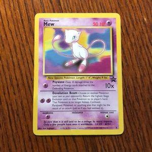 1999-2000 mew Pokémon card promo